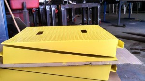 Safety Ramp for Material Handling