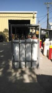 Cylinder Rack for 16 Cylinders