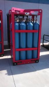Cylinder Rack for 9 Cylinders