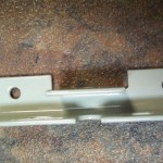 Mounting Bracket w/Powder Coat